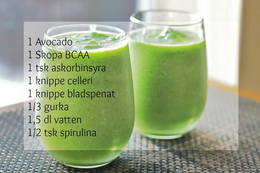 recept på gröna juicer